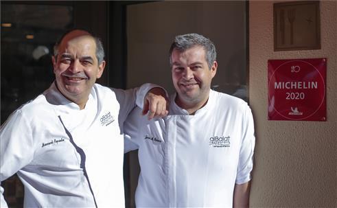 El restaurante cacereño Albalat, en la Guía Michelin